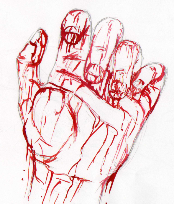With blood on your hands by Dinaria on deviantART