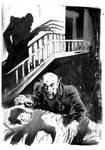 Nosferatu ink sketch