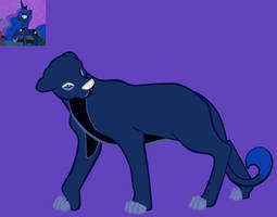 My Little Lion: Luna by lionsilverwolf