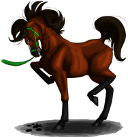 Firey Phoenix by lionsilverwolf