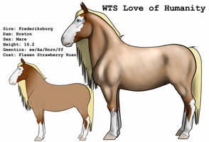 WTS Love of Humanity by lionsilverwolf