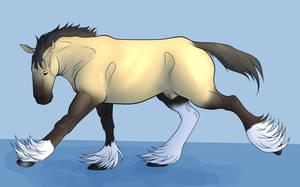 Sooty Buckskin Mini Event by lionsilverwolf