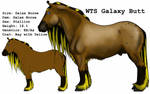 Galaxy Butt by lionsilverwolf