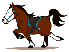 Imma Racehorse by lionsilverwolf
