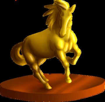 Champion Jouster Trophy by lionsilverwolf