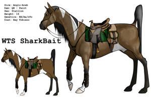 WTS SharkBait + Tack by lionsilverwolf