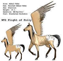 WTS Flight of Folly by lionsilverwolf
