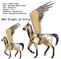 WTS Flight of Folly + Tack by lionsilverwolf