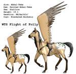 WTS Flight of Folly + Tack