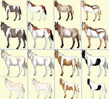 OPEN Free Horse Adopts by lionsilverwolf