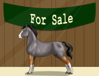 For Sale: WTS Jumping Jack Flash by lionsilverwolf