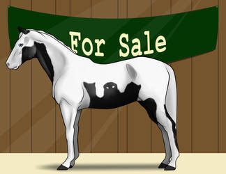 For Sale: Stlirling Ghostly Spook by lionsilverwolf