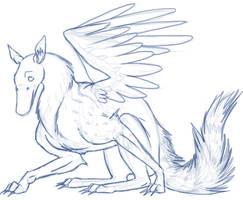 DuckServal by lionsilverwolf