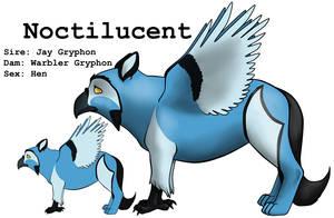 Noctilucent by lionsilverwolf