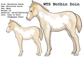 WTS Nothin Doin by lionsilverwolf