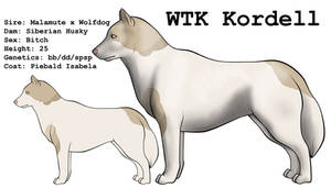 WTK Kordell by lionsilverwolf