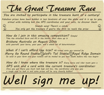 The Great Treasure Race