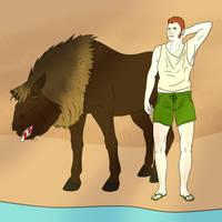 18 Winter Run by lionsilverwolf