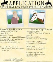 Saint Dalton Application by lionsilverwolf