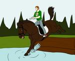 BH Summer Event - Nate Cross Country by lionsilverwolf