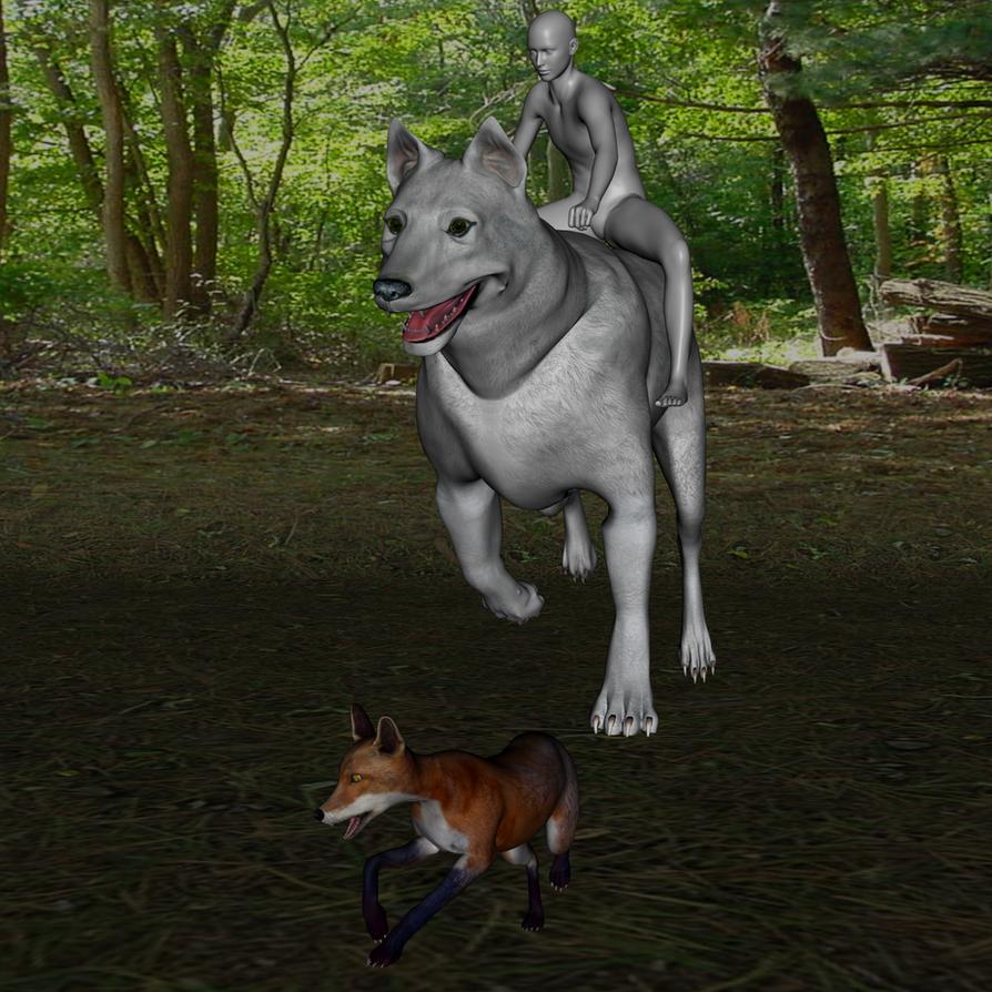 Yth Hunting by lionsilverwolf