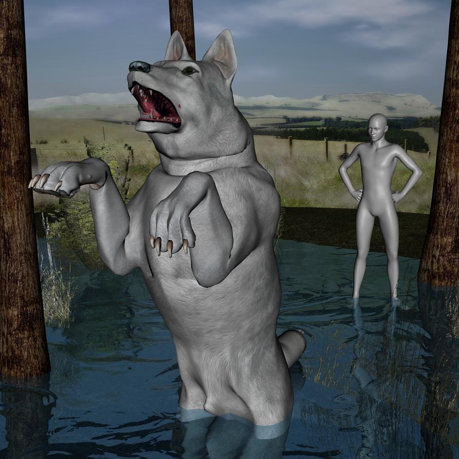 Yth Fishing by lionsilverwolf