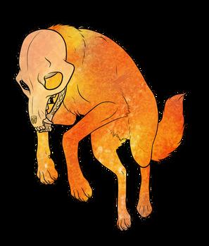 Spoopy Fox Transparent