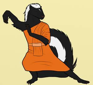 Skunk Monk