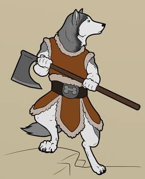 Siberian Barbarian