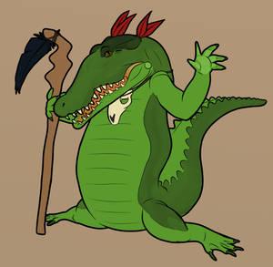 Croc Warlock