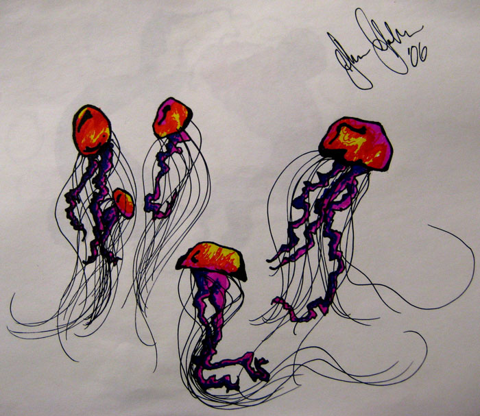 Jellyfish Tattoo Sketch Tattoo Sketch Book 07 by