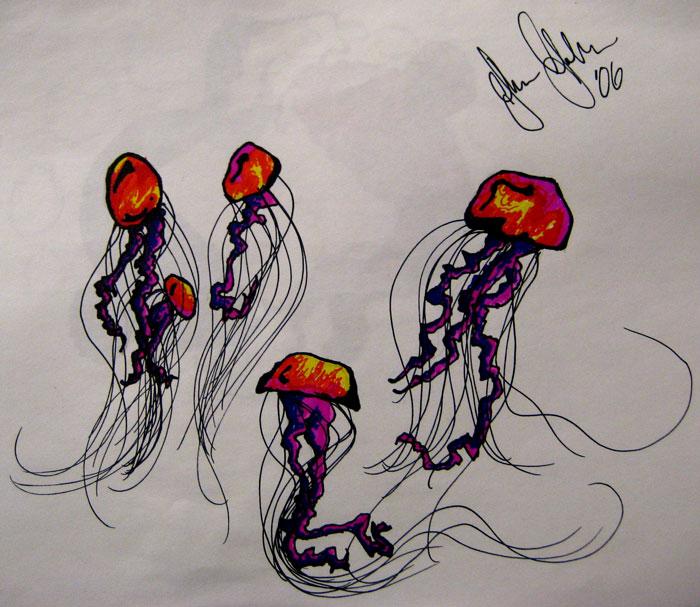 Jellyfish Tattoo Sketch Tattoo Sketch Book 07 by