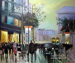 Paris Boulevard Final by ricardomassucatto