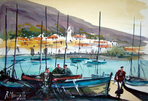 Costa Brava watercolour