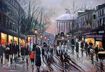 Paris oil on canvas III