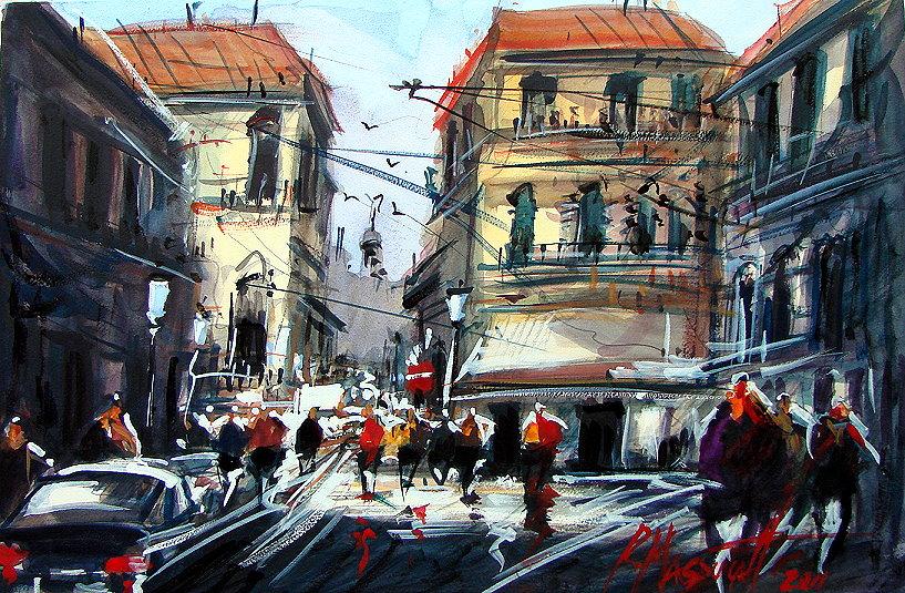 Massucatto  watercolour style by ricardomassucatto