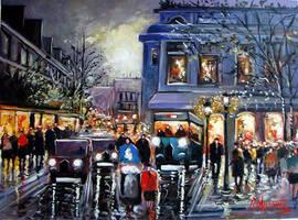 Evening in Paris II by ricardomassucatto