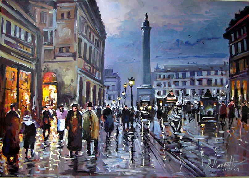 Place Vendome III Paris by ricardomassucatto