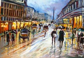 A rainy day by ricardomassucatto