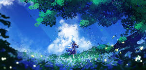 Song of flowers and wind