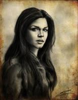 Octavia Blake Charcoal by Epopp300