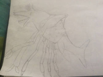 Spider crab ichythasaur by Mr5urfwave