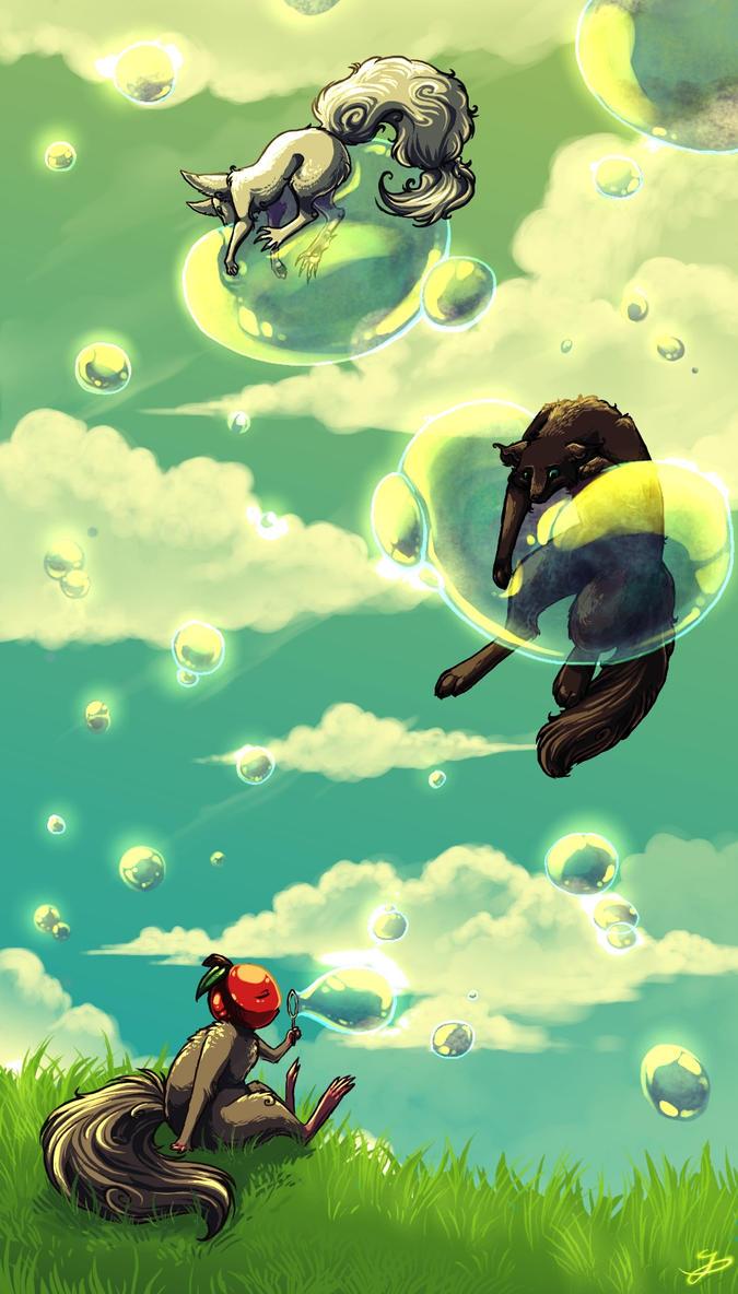 Friend bubbles by Unikeko