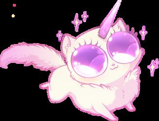 Unicorn kitten by Unikeko