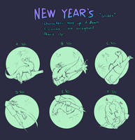 New Year's globes YCH [0/6]