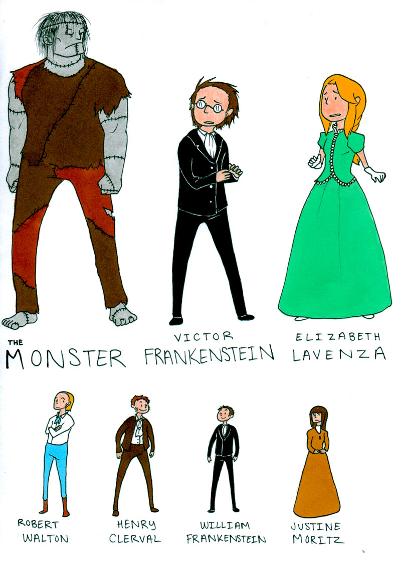 what makes a monster? mary shellys frankenstein essay 2018-6-11  victor frankenstein: the real monster of mary shelley's frankenstein  essay on victor frankenstein as the monster in mary shelley's  which makes him get.