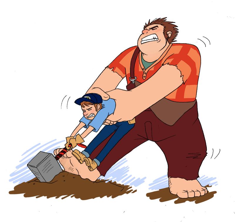 Ralph Could Pick It Up, HMMMM? by Insideunder