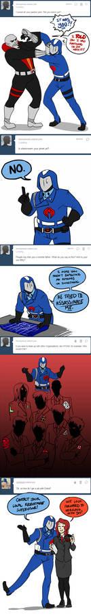 Cobra Commander Asks 16-20