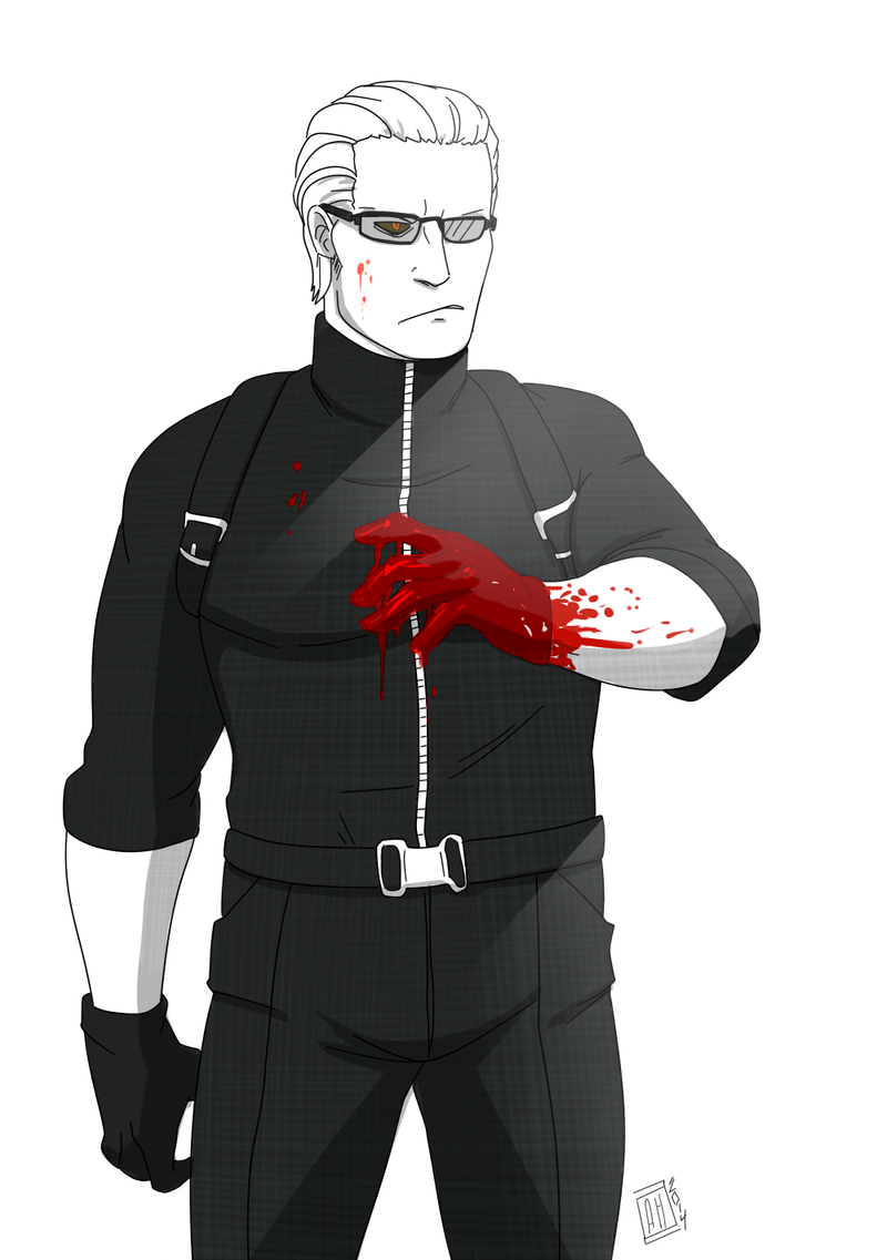Just stabbed my hand through a dude s chest by biteghost on