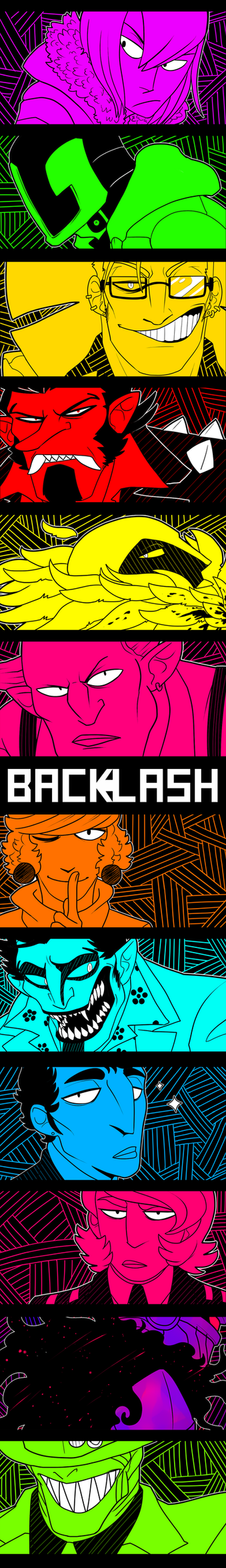 BACKLASH -- EYECATCH by BITEGHOST